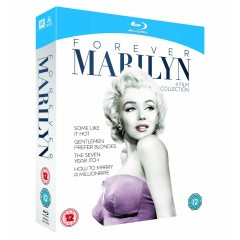 Marilyn Monroe - 4 filmų kolekcinis leidimas (Blu-ray)