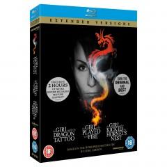 Millenium trilogija (Blu-ray)