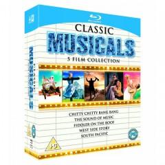 Klasikiniai miuziklai - 5 filmų leidimas (Blu-ray)