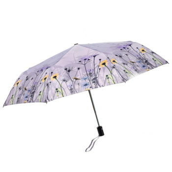 """Automatinis sudedamas skėtis """"Pievų gėlės"""""""