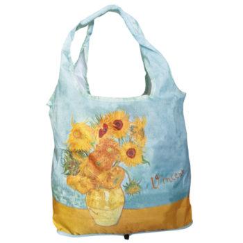 """Sudedamas pirkinių krepšys """"Saulėgrąžos"""""""